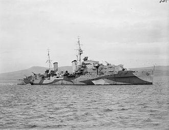 HACS - Image: HMS Scylla 1942 IWM FL 2932