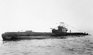 HMS Sidon (P259) am 17. November 1944