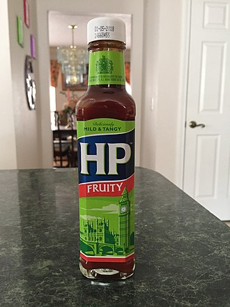 HP Sauce - A bottle of Fruity HP Sauce