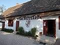 Halászcsárda, fish restaurant. - Tópart street, Tata, Hungary.JPG