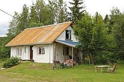 Halmhus straw bale house Hurdal ecovillage