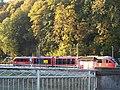Haltepunkt Wiesenburg (Sachs) (neu) mit Erzgebirgsbahn.jpg