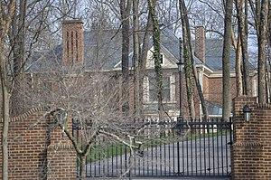 James Hoge Tyler - Halwyck, Tyler's Radford home