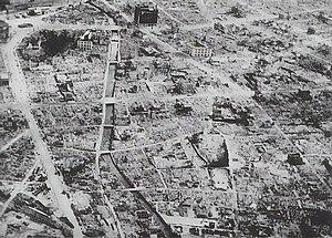 Bombing of Hamamatsu in World War II -  Hamamatsu after the 1945 air raids