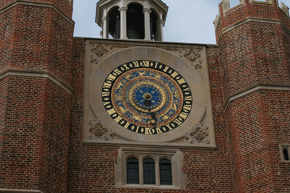 Hampton Court Palace Clock