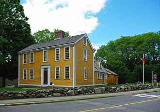 Dorothy Quincy - The Hancock-Clarke House, 36 Hancock St., Lexington, Massachusetts.