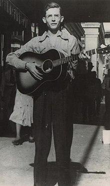 Hank Williams a Montgomery, Alabama, 1938
