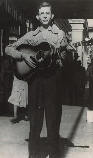 My Bucket's Got a Hole in It - Image: Hank Williams 1938 Cropped