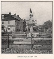 Center Square in 1873