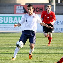 Harmeet Singh (Vålerenga Oslo) - Norway national under-21 football team (03).jpg