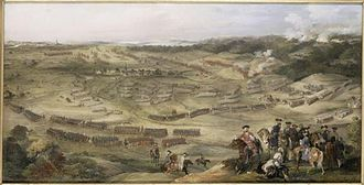 Battle of Hastenbeck - Image: Hastenbeck Rioult
