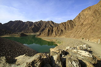 Outline of Dubai - Hatta  Reservoir
