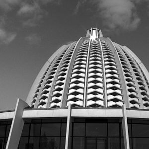 Bahá'í Faith in Germany - Bahá'í House of Worship in Langenhain near Frankfurt