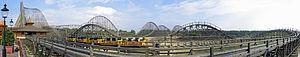Heide Park - Image: He Pa Colossos Panorama