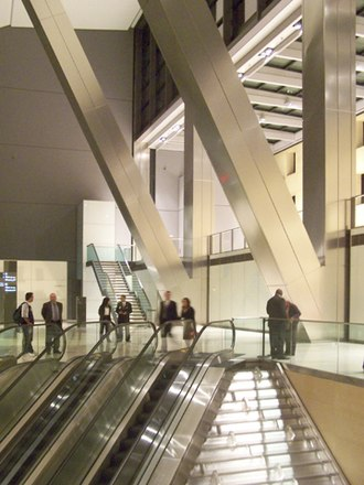 Hearst Tower (Manhattan) - Image: Hearst Tower Lobby October 2006