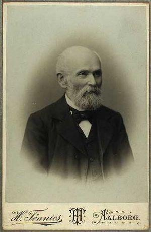 Heinrich Tønnies - Heinrich Tønnies: self-portrait