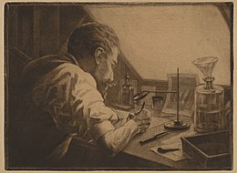 Henri Charles Guerard self portrait at work.jpg