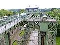 Henrichenburg - LWL-Industriemuseum Schiffshebewerk – Blick durch das Stahlgerüst in den Trog - panoramio.jpg
