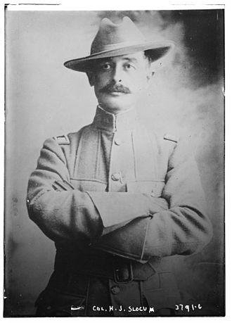 13th Cavalry Regiment - Herbert Jermain Slocum circa 1915