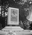 Herdenking van de geboortedag van Paul Kruger te Utrecht in de tuin van het pand, Bestanddeelnr 905-3536.jpg