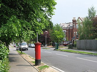 Upper Norwood - Hermitage Road, a Victorian suburban street in Upper Norwood
