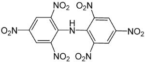 Hexanitrodiphenylamine - Image: Hexanitrodiphenylami ne