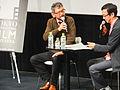 Hideaki Anno and Ryusuke Hikawa 20141030 3.jpg