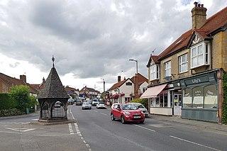 Bovingdon Human settlement in England