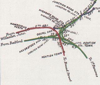 Highgate Road railway stations