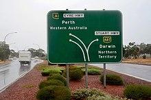 Stuart Highway - Wikipedia