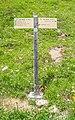 Hiking sign at Reservoir de Veran.jpg