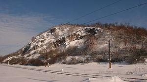 Tlmače - Hill Kusa Hora near Tlmace