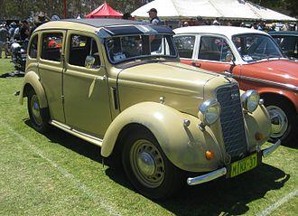 Hillman - Minx 1937, 1185 cc 4-cylinder
