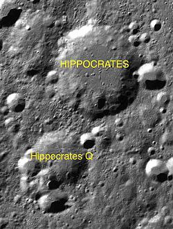 Hippocrates sattelite craters map.jpg