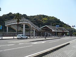 Hirokawa beach station.jpg