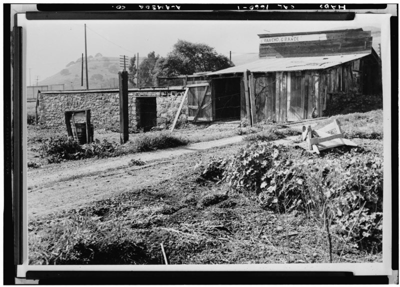 File:Historic American Buildings Survey Willis Foster, Photographer Northern California Writers' Project Original- February 1940 Re-photo- August 1940 General View - Vallejo Flour Mill, HABS CAL,1-NIL,2-1.tif