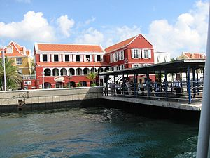 Curaçao - Historic Area of Willemstad, declared World Heritage Site by UNESCO in 1997.