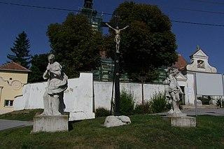 Figuren hll. Sebastian und Maria Magdalena