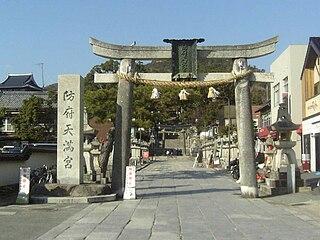 Hōfu Tenmangū Shinto shrines in Yamaguchi Prefecture, Japan