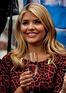Holly Willoughby English television presenter