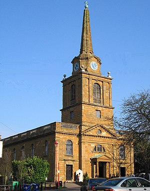Daventry - Holy Cross Church, a grade I listed building