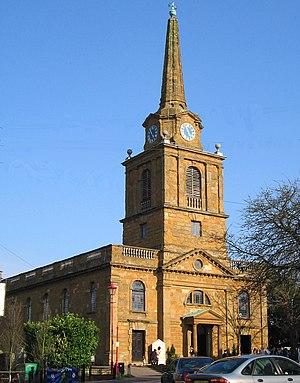 Daventry - Holy Cross Church, a grade I listed building