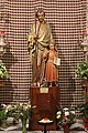 Holy Land 2016 P0289 Church of St. Joseph in Nazareth statue Saint Joseph and Jezus.jpg