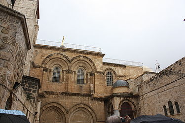 Holy Sepulchre facade from parvis 4.jpg