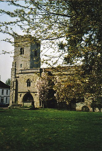 Much Wenlock - Holy Trinity Church