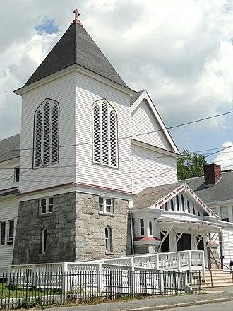 Holy Trinity Parish (Lowell, Massachusetts) - Image: Holy Trinity Parish, Lowell, MA DSC00088