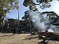 Homa fire in Higashi Park, Fukuoka.jpg