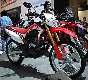 honda crf150l - indonesia international motor show 2018 - april 26 2018 jpg