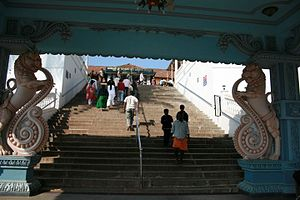 Annapoorneshwari Temple - Annapoorneshwari Temple Entrance