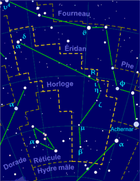 Image illustrative de l'article Horloge (constellation)